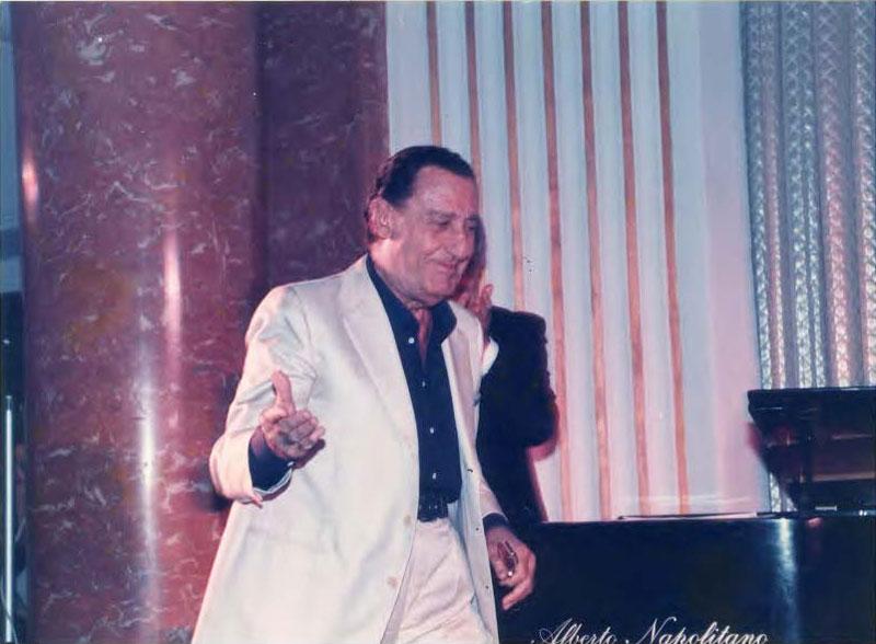 Alberto Sordi al Premio Faraglioni