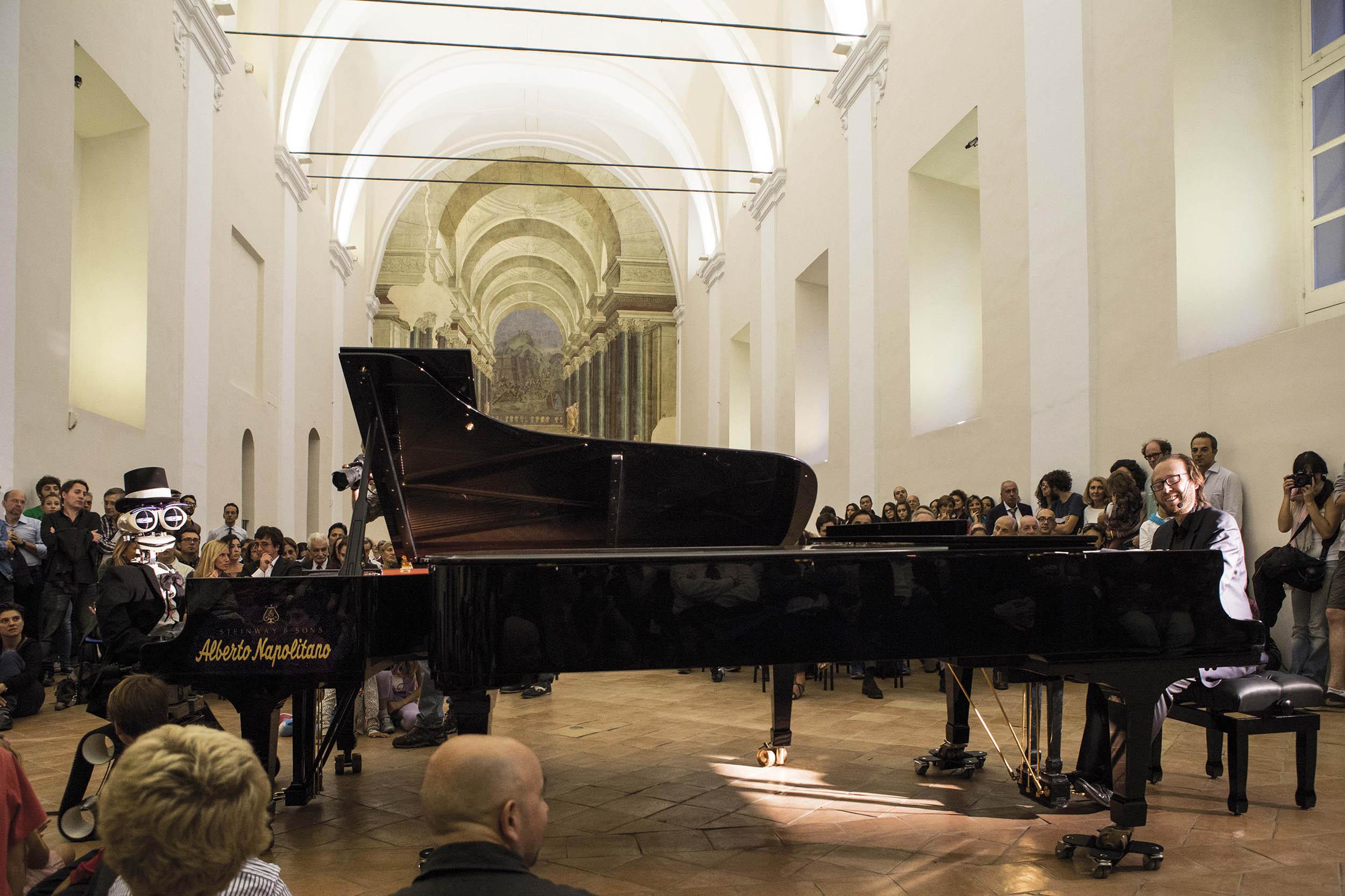 Teotronico a Piano City Napoli 2013