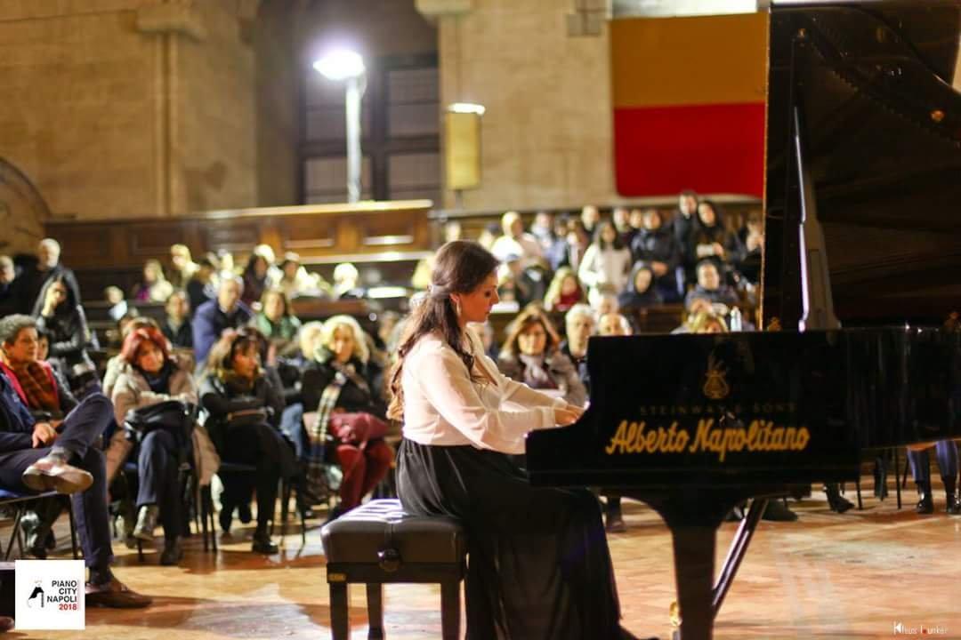 Mariangela Vacatello PianoCity Napoli  2018