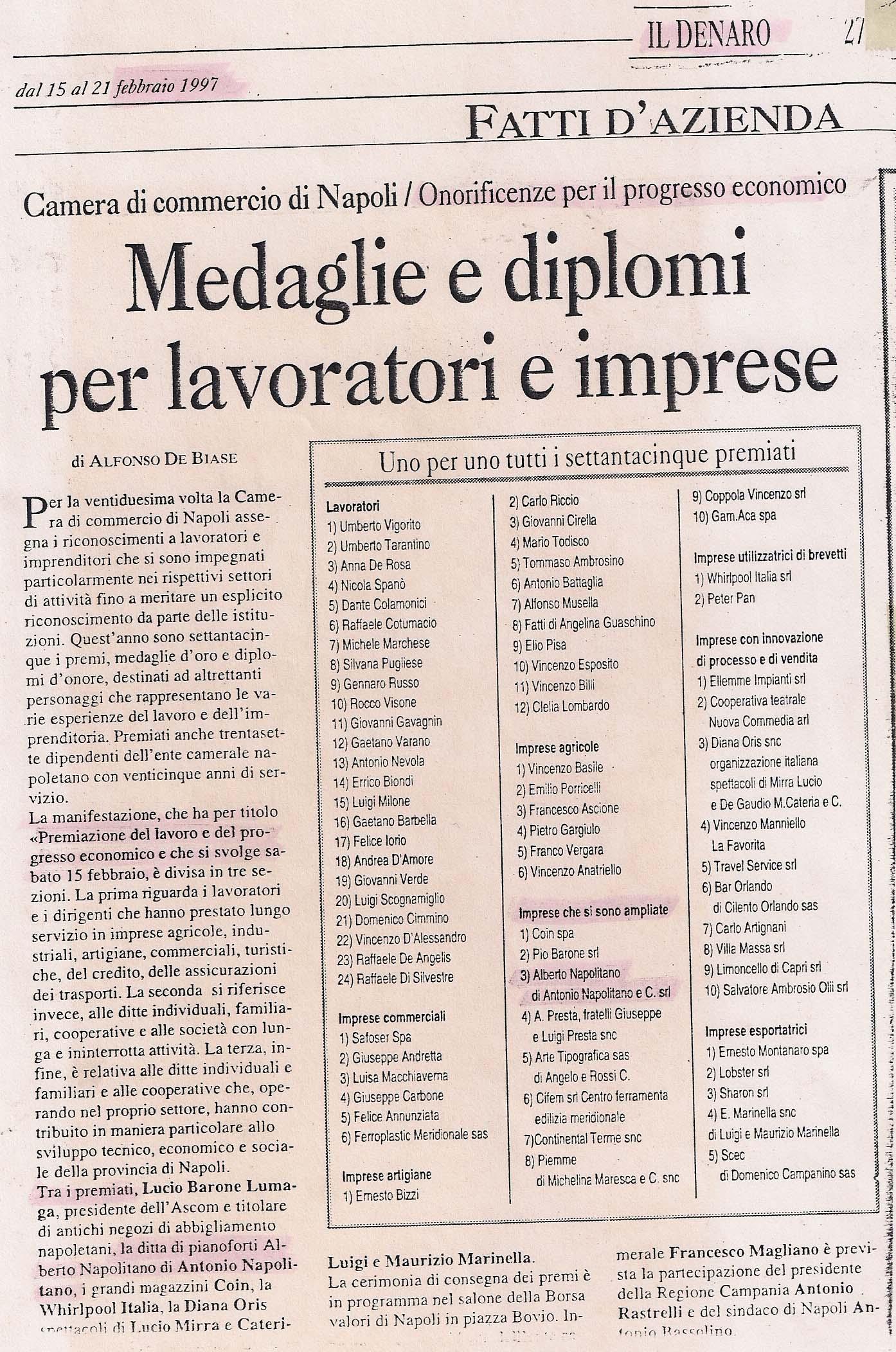 Medaglie-diplomi-1997-Alberto-Napolitano-Pianoforti-Napoli