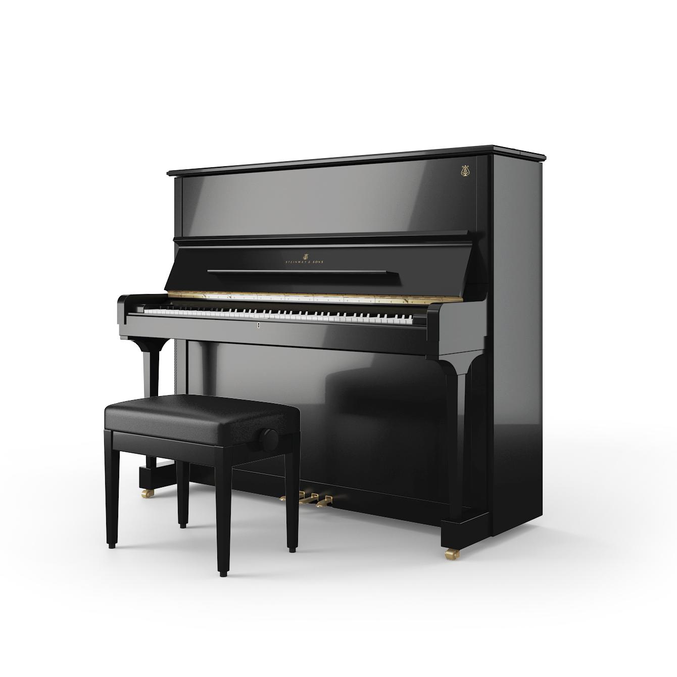 Pianoforte Steinway K-132 - Alberto Napolitano Pianoforti Napoli