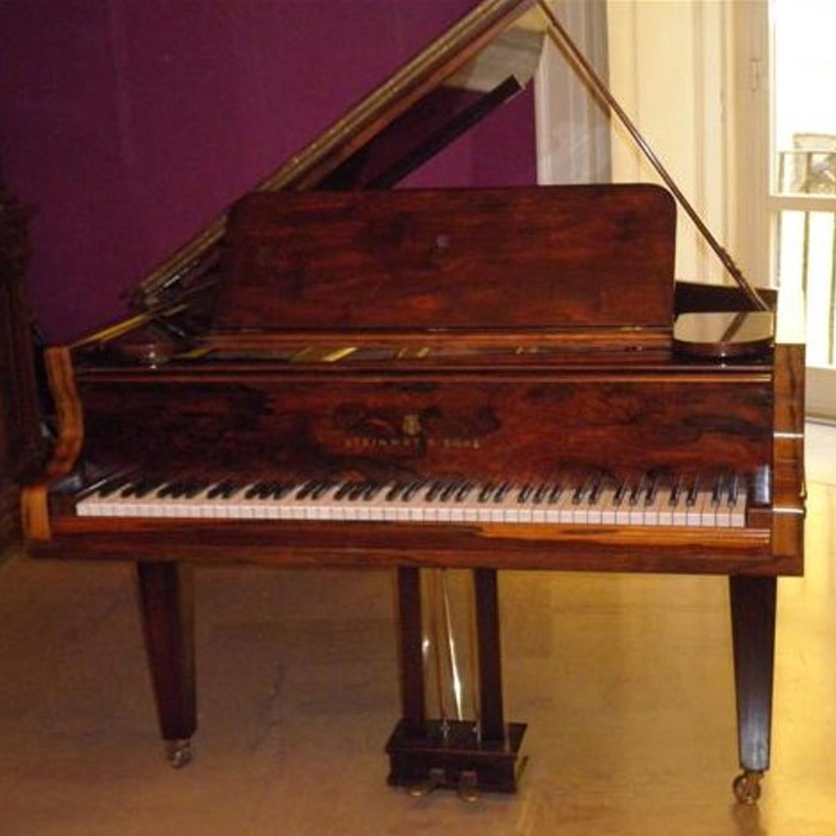 Pianoforte Steynway 3/4 coda noce - Alberto Napolitano Pianoforti Napoli