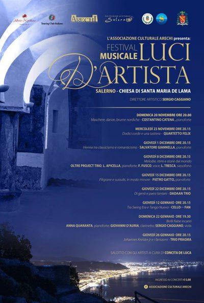 Festival luci d'artista Salerno - Alberto Napolitano Pianoforti