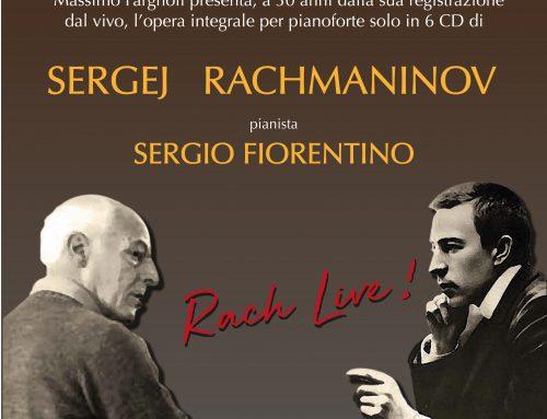 Rach-Live – pianista Sergio Fiorentino – Giovedì 21/12/2017