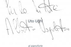 Autografo Uto Ughi con dedica
